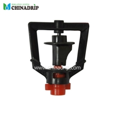short spraying distance micro sprinkler with different nozzle size, standing type