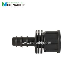 barb & female thread connector for pe pipe