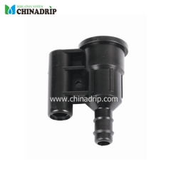 Female adaptor support for sprinkler with male thread 1/2