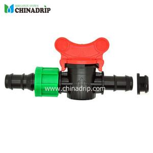 multi valve for drip tape & pe tubing with grommet