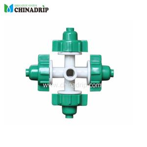 small droplet four outlet aromizer green color